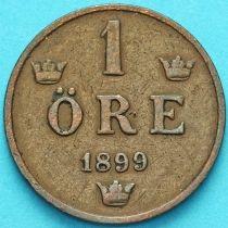 Швеция 1 эре 1899 год.