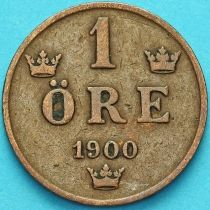 Швеция 1 эре 1900 год.