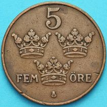 Швеция 5 эре 1926 год.