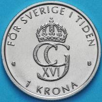 Швеция 1 крона 2000 год. Миллениум.