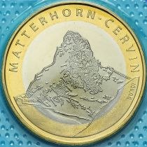 Швейцария 10 франков 2004 год. Гора Маттерхорн
