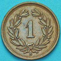 Швейцария 1 раппен 1941 год.