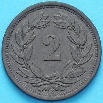 Швейцария 2 раппена 1943 год. №4