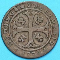 Швейцария, Кантон Берн 1/2 батцена 1876 год. Серебро.