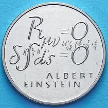 Швейцария 5 франков 1979 год. Эйнштейн. Формула