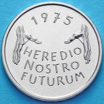 Швейцария 5 франков 1975 год. Защита памятников.