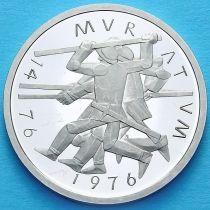 Швейцария 5 франков 1976 год. Битва при Муртене. Пруф.