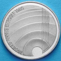 Швейцария 5 франков 1985 год. Год музыки.