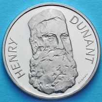Швейцария 5 франков 1978 год. Анри Дюнан.