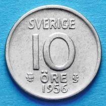 Швеция 10 эре 1952-1959 год. TS