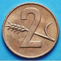 Швейцария 2 раппена 1948-1969 год.