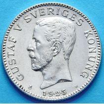 Швеция 1 крона 1923 г. Серебро