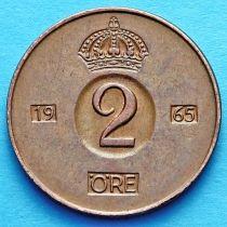 Швеция 2 эре 1954-1970 г.