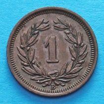 Швейцария 1 раппен 1912 год.
