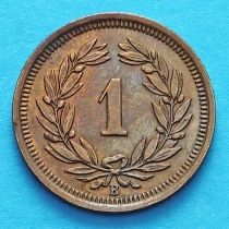 Швейцария 1 раппен 1929 год.