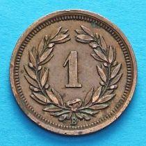 Швейцария 1 раппен 1931 год.
