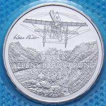 Швейцария 20 франков 2013 год. Перелет через Альпы. Серебро.