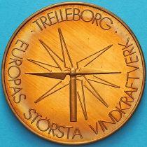 Швеция, токен 10 крон 1982 год. Треллеборг