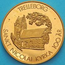 Швеция, токен 10 крон 1983 год. Треллеборг