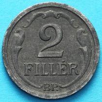 Венгрия 2 филлера 1944 год.