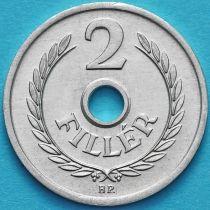 Венгрия 2 филлера 1985 год.