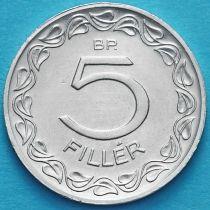 Венгрия 5 филлеров 1986 год.