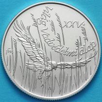 Венгрия 500 форинтов 1988 год. Всемирный фонд дикой природы. Серебро.