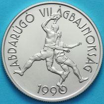 Венгрия 500 форинтов 1989 год. Чемпионат мира по футболу 1990. Серебро.