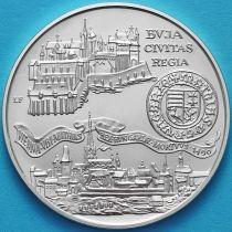 Венгрия 500 форинтов 1990 год. Буда и Вена. Серебро.