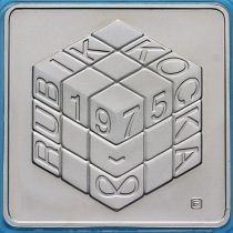 Венгрия 500 форинтов 2002 год. Кубик Рубика.