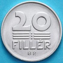 Венгрия 20 филлеров 1978 год. BU.