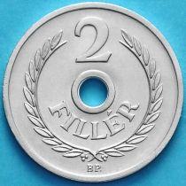 Венгрия 2 филлера 1978 год. BU.