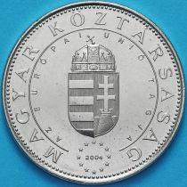 Венгрия 50 форинтов 2004 год.  Вступление Венгрии в ЕС.