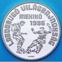 Венгрия 500 форинтов 1986 год. Мехико-86. Серебро.