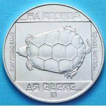 Венгрия 200 форинтов 1985 год. Черепаха. Серебро