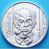 Венгрия 200 форинтов 1976 год. Гьюла Дерковиц. Серебро