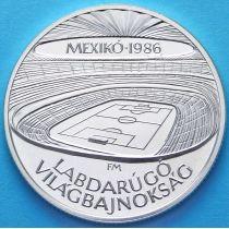 Венгрия 500 форинтов 1986 год. Стадион. Серебро.