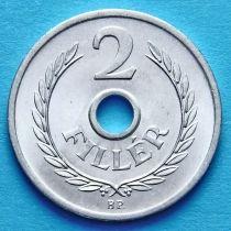 Лот 10 монет. Венгрия 2 филлера 1973 год.