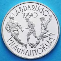 Венгрия 500 форинтов 1988 год. Футбол. Серебро.