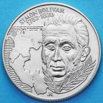 Венгрия 100 форинтов 1983 год. Симон Боливар