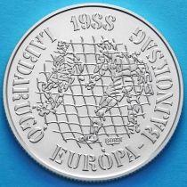 Венгрия 500 форинтов 1988 год. Сетка ворот. Серебро.