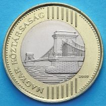 Венгрия 200 форинтов 2010 год. Цепной мост Сеченьи