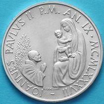 Ватикан 1000 лир 1987 год. Серебро.