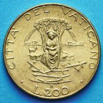 Ватикан 200 лир 1987 год. Богоматерь.