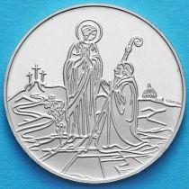 Ватикан 500 лир 1984 год. Дева Мария. Серебро.