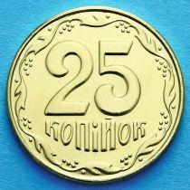 Украина 25 копеек 2014 год.