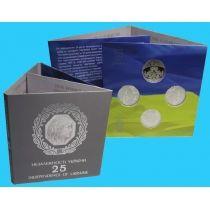 Украина набор из 4 монет по 5 гривен 2016 года в оригинальном буклете.