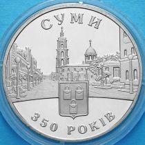 Украина 5 гривен 2005 год. 350 лет городу Сумы.