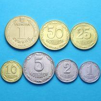 Украина набор 7 монет 2009-2015 год