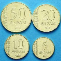 Таджикистан набор 4 монеты 2015 год.